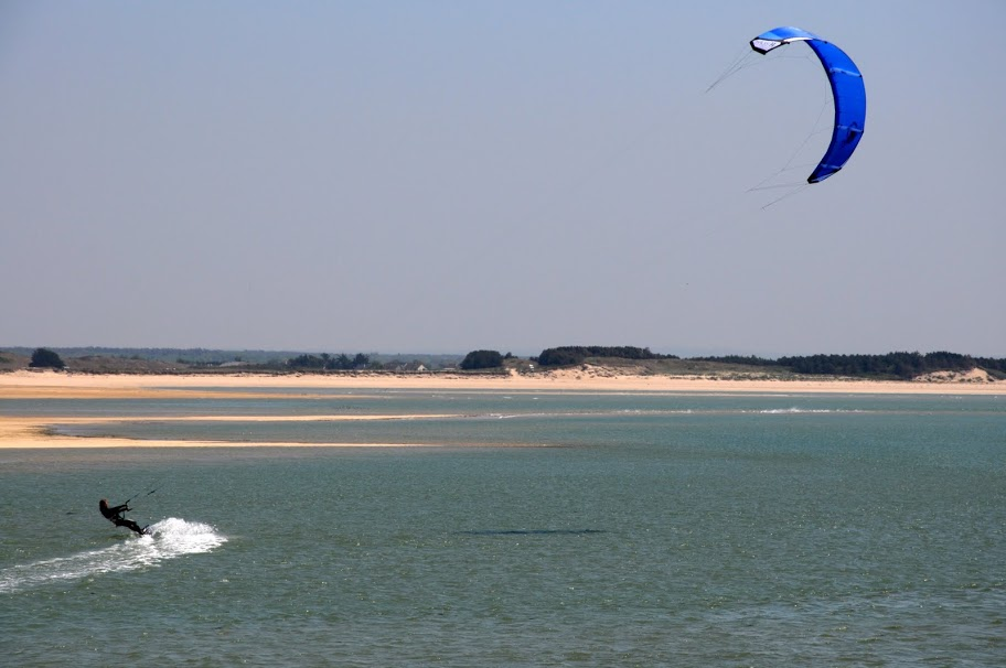 Plaisir kite trip Cotentin